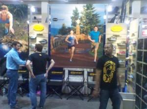 Boston Marathon (2011) Vibram Booth