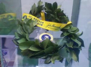 Boston Marathon (2011) Winner's Wreath