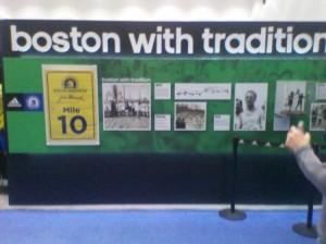 Boston Marathon (2011) Tradition