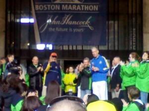 Boston Marathon (2011) John Hancock