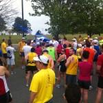 Start Line of the Andrew Jackson Marathon