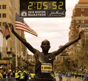 Robert Kiprono Cheruiyot - Boston Marathon 2010 Winner