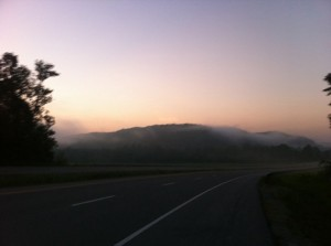 A Gorgeous Beginning to Day 5, Vol State 2011S