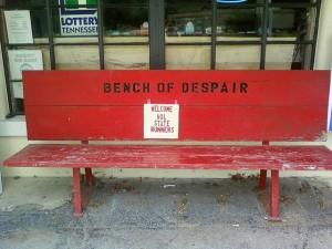 2011 Vol State - Bench of Despair