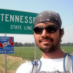 2011 Vol State - Naresh Kumar Crossing Into Tennessee
