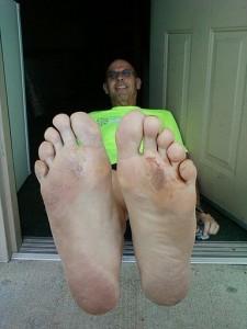2011 Vol State - Sal Coll's Feet