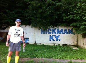 Joshua Holmes in Hickman, Kentucky - Vol State 500K