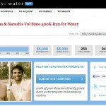 Naresh and Joshua Reach $5,000.00 charity:water Goal!