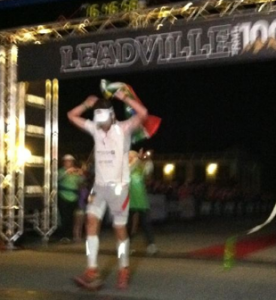 Ryan Sandes - 2011 Leadville 100 Winner - iRunFar