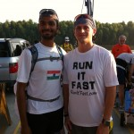 Vol State 500K: Naresh Kumar & Joshua Holmes at the Start