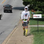 Joshua Holmes' Long Slow Walk into Lewisburg and Mile 200