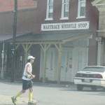 Vol State 500K: Running by the Wartrace Town Strip