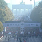 Berlin BMW 2011 Marathon Start Line