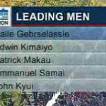 Berlin Marathon 2011 - 5K Split Men