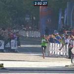 Berlin Marathon - Patrick Makau Winner
