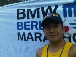 Hideki Kino 2011 Berlin Marathon