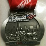 Chicago Marathon Medal 2
