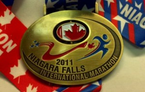 Niagara Falls Marathon Canada Medal