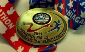 Niagara Falls Marathon USA 2011 Medal