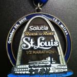 RNR St. Louis Half Marathon Medal (Inaugural)
