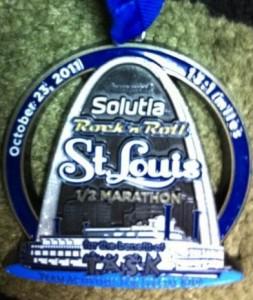 Rock N Roll St. Louis Half Marathon Medal