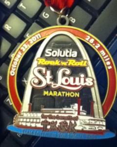 Rock N Roll St. Louis Marathon 2011