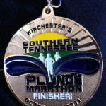 Southern Tennessee Plunge Marathon Medal 201101