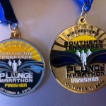 Southern Tennessee Plunge Marathon Medal 201103