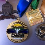 Southern Tennessee Plunge Marathon Medal 201105