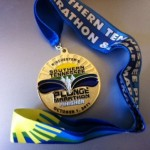 Southern Tennessee Plunge Marathon Medal 201109