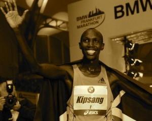Kenyan Marathoner Wilson Kipsang