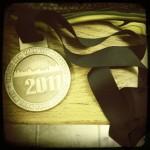 NYC Marathon Medal 2011