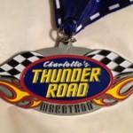 Thunder Road Marathon Medal - 2011
