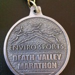 Death Valley Trail Marathon - 2011 - Back