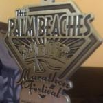 Palm Beach Marathon Medal 2011 PBM