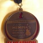 St. Jude Marathon Medal 2011