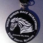 2012 Wild Horse Half Marathon Medal