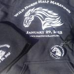 2012 Wild Horse Half Marathon Swag