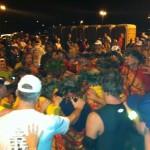Hawaiian Prayer Before Maui Oceanfront Marathon