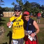 After the 2012 Maui Oceanfront Marathon