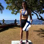 2012 Maui Oceanfront Marathon Overall Female Winner Mari Kauri