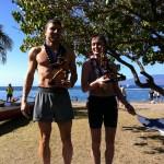 2012 Maui Oceanfront Marathon Winners Chuck Engle and Mari Kauri