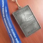 Mumbai Half-Marathon Medal 2012