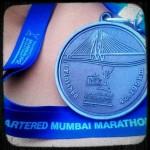 Mumbai Marathon 2012 Medal