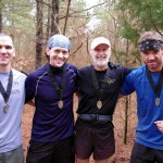 JJ50K Finishers - Jeff Fugate, Holmes, Dallas Smith, Estes