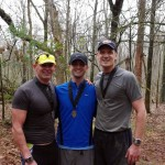 JJ50K - Jackass 50K First Time Finishers - Gene Pierce, Jonathan Bobbitt, Kam Otey