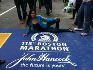 Nadia Ruiz Gonzales - Boston Marathon