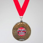 2012 Country Music Marathon Medal