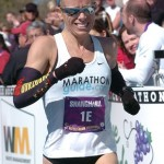 Leah Thorvilson - 2012 Little Rock Marathon Winner - Final Push