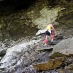 Savage Gulf Trail Marathon - Troy Johnson Up Rocks 2012